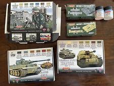 Modellbau Farben Set Lifecolor für deutsche Wehrmacht Panzer Und Soldaten