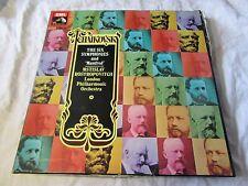 SLS 5099 TCHAIKOVSKY 6 Symphonies & Manfred ROSTROPOVITCH - 7 x Box Set NM-EXC