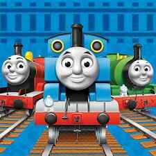 """Thomas Tank Engine Iron On Transfer 5 """"x 5"""" for LIGHT Colored Fabric"""