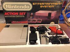 Lot Console NINTENDO NES ACTION SET Complet - 3 Jeux + 1 autre Console Nes