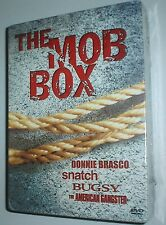 The Mob Box Set (DVD, 2006, 4-Disc Set, with Collectible Scrapbook),NEW & SEALED