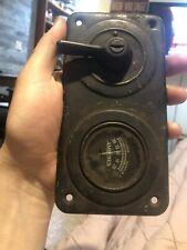 Briggs & Stratton Vintage Ignition Key Light Dash Switch Ford Model T Panel