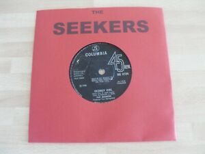 """THE SEEKERS JUDITH DURHAM 7"""" SINGLE * GEORGY GIRL / THE LAST THING ON MY MIND *"""