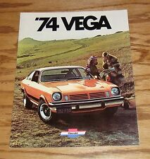 Original 1974 Chevrolet Vega Sales Brochure 74 Chevy