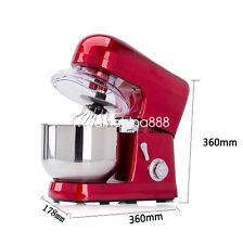 Kitchen Aid 6-speed 5L Metallic Red Professional Stand Mixer 1200W DHL Fast