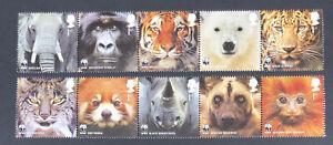 SALE - GB 2011 MINT MNH WWF SAFEGUARDING THE NATURAL WORLD UMM SET - FREE UK P&P