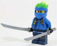 LEGO NINJAGO FS FORBIDDEN SPINJITZU JAY MINIFIGURE 70674 70673 NINJA - GENUINE