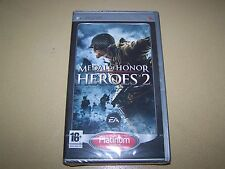 Medal of Honor: Heroes 2 Platinum PSP **New & Sealed**