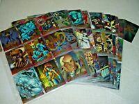 FLEER ULTRA CHROMIUM X-MEN XMEN 1995 TRADING CARDS COMPLETE SET 1-100 MINT NEW