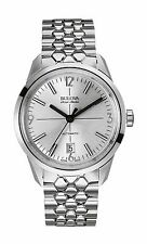 Bulova Accu Swiss Men's 63B177 Murren Automatic Silver-Tone Bracelet 40mm Watch