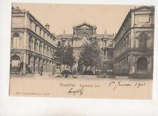 Bruxelles Universite Libre Belgium 1903 U/B Postcard Wilhelm Hoffmann 615b