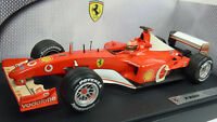 Hot Wheels/Mattel 1:18 Formel 1 Ferrari F2002 Michael Schumacher OVP (A691)
