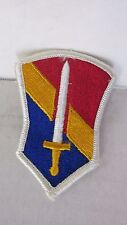 1st Field Force Vietnam Shoulder Sleeve Insignia Patch w/ Merrowed Edge 1970