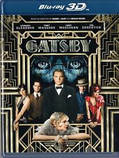 The Great Gatsby (Blu-ray 3D + Blu-ray ) Dicaprio  BRAND NEW!