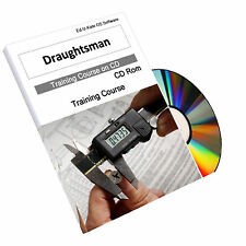Draughtsman Drafting Technical CAD Drawing Training Course Manual CD Guide Book