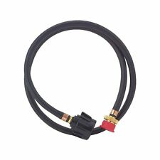 WEBER GO ANYWHERE LP GAS GRILL 6' HOSE WITH ADAPTER CONNECTS TO 20# TANKS