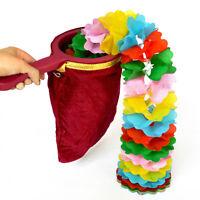 Change Bag Magic Trick Handle Magic Prop Magicians Stage Show Disappear Tools