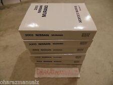 nissan murano 2003 2004 2005 2006 2007 2009 factory service repair workshop manual