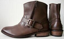 FIRETRAP Stivaletti Donna Ankle Boots spacciatori Stivali Scarpe in pelle tg 39 NUOVO