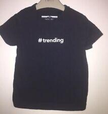 Boys Age 9-12 Months - Next 2017 '# Trending ' T Shirt
