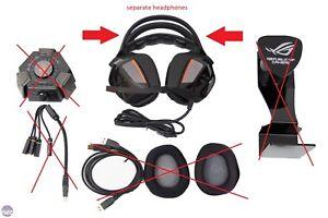 ASUS ROG Centurion True 7.1- separate headphones *scratched*