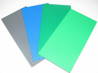 Lego ® Plaque Base 16x32 Tenons Plate Platten Choose Color ref 2748 / 3857 NEW