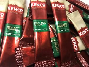 Kenco Decaff - One Cup Individual Instant Coffee Sticks / Sachets like Nescafe