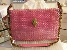 KURT GEIGER Kensington Pink Beaded / Crossbody Bag / Handbag - NEW WITH DEFECT