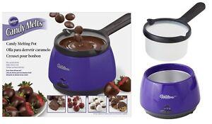 Wilton Chocolate Candy Melts Melting Pot Warmer 2104-9007X 120 Volt Plug *NEW*