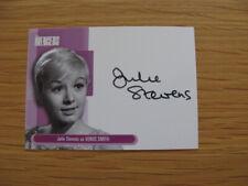 Autograph Card The Avengers Julie Stevens