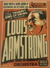Louis Armstrong Concert 18X24 CLASSIC JAZZ MUSIC ART VINTAGE POSTER