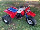 1985 Honda ATC350X 3 Wheeler Trike. 85 ATC 350X with clean Title. 86 250R 200X