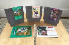Adventure Island 2, MC Kids, Little Nemo Instruction Books (Nintendo Nes) Tested