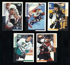1997-98 Score Hockey Promos 5-Card Lot - #s 34 82 83 84 88 - Jagr Kariya +more!