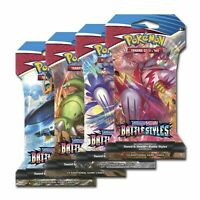 Pokemon TCG Battle Styles Sleeved Booster Pack LOT OF 36 PACKS FACTORY SEALED