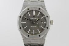 Audemars Piguet Royal Oak 41mm Grey Dial Watch 15400 15400ST.OO.1220ST.04 UNWORN