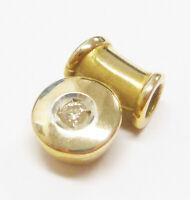 Solitär Brillant Anhänger 585 Gold 14 Karat Gelbgold - 391-41#