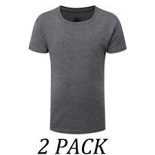 Vêtements T-shirt gris avec col rond pour fille de 10 à 11 ans