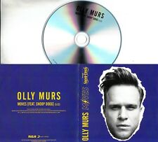 OLLY MURS Moves (featuring Snoop Dogg) 2018 UK 1-trk promo test CD