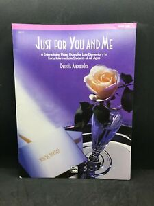 ALEXANDER Just for You and Me Duets Elementary Intermediate Book 1 #6657