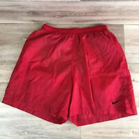 Nike Boys XL 18/20 Vintage Spell out Shorts Red Basketball Athletic