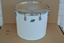 "CHICAGO ERA! 1970's LUDWIG 16"" WHITE CORTEX CONCERT TOM for YOUR DRUM SET! #V570"