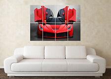 Grande FERRARI SUPERCAR SPORTS CAR WALL POSTER Arte Stampa Quadro