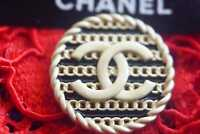 Vintage  Chanel button price for 1   💔 medium size