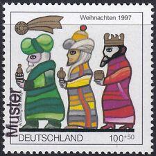 Specimen, Germany ScB825 Christmas, Magi