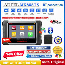 Automotive Full System OBD Scanner Autel MK808TS Diagnostic Tool ABS Oil Service