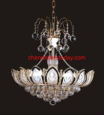 "Crystal Chandelier Wholesale Price 22""x24"" BEST PRICE & QUALITY *GOLD*"