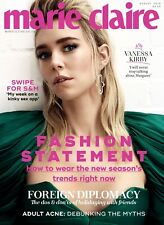 MARIE CLAIRE MAGAZINE AUGUST 2018 ~ VANESSA KIRBY COVER & INTERVIEW ~ NEW ~