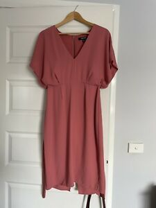 Forever New Pink Dress Size 10