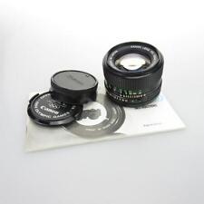 Canon FD 50mm 1:1.4 Objektiv / lens + caps + instruction